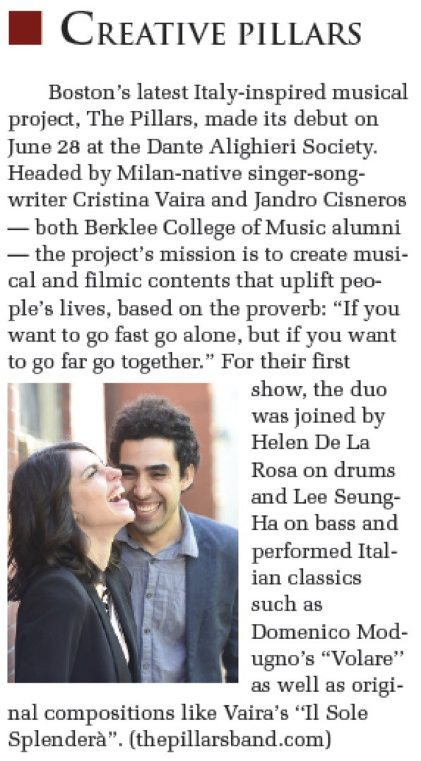 The Pillars Article Bostoniano Creative Pillars06.30.14 Photo