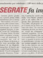The Pillars DA 100 Article Segrate ENGLISH ITALIAN Photo
